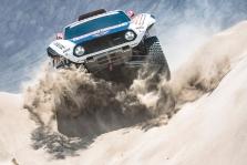 """<span style=""""background:#996633; color:white; padding: 0 2px"""">Dakaras</span> Septintame greičio ruože greičiausias S. Peterhanselis ir """"Mini"""""""
