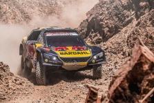"""<span style=""""background:#996633; color:white; padding: 0 2px"""">Dakaras</span> Dakaro ralyje vėl greičiausias S. Loebas"""