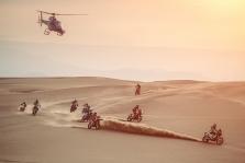 Dakaras. Po devintojo greičio ruožo T. Price'as išlieka motociklininkų klasės lyderiu
