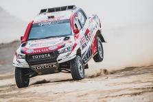Dakaras. N. Al-Attiyah artėja prie pergalės, o B. Vanagas šiandien finišavo penktas