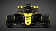 """""""Renault"""" parodė naujojo bolido išdažymą"""