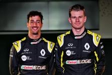 N. Hulkenbergas: nebus lengva varžytis su D. Ricciardo