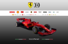 """""""Ferrari"""" pristatė savo naujausią bolidą"""