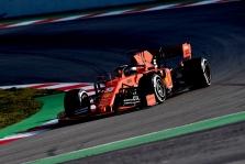 Pirmąją bandymų dieną Barselonoje greičiausias S. Vettelis