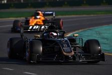 R. Grosjeanas dėl lenkimų stokos kaltina padangas