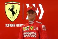 """""""Ferrari"""" bolidą išbandęs M. Schumacheris: pasijaučiau lyg namuose"""