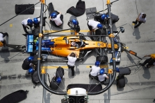 """C. Sainzas: kvalifikacijoje """"McLaren komanda """"sugrįžo į realybę"""""""