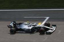"""V. Bottas: man pasisekė iškovoti """"pole"""" poziciją"""
