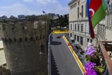 Azerbaidžano GP: lenktynės (tiesiogiai)