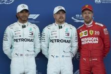 """Azerbaidžane """"pole"""" poziciją iškovojo V. Bottas"""