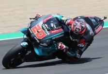 "<span style=""background:#d5002c; color:white; padding: 0 2px"">MotoGP</span> Staigmena Jereze - ""pole"" iškovojo naujokas F. Quartararo"