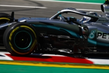 """V. Bottas tikėjosi rimtesnio pasipriešinimo iš """"Ferrari"""""""