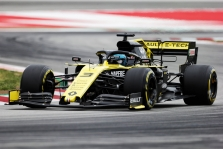 "D. Ricciardo bolide - galingesnis ""Renault"" variklis"