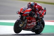 """<span style=""""background:#d5002c; color:white; padding: 0 2px"""">MotoGP</span> Mugello trasoje vykusiose lenktynėse pirmąją pergalę iškovojo D. Petrucci"""