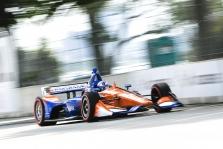 "<span style=""background:#3f3f3f; color:white; padding: 0 2px"">IndyCar</span> Detroite pirmąją pergalę sezone iškovojo S. Dixonas"
