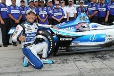 """<span style=""""background:#3f3f3f; color:white; padding: 0 2px"""">IndyCar</span> Teksase antrąją """"pole"""" sezone iškovojo T. Sato"""
