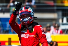 Ch. Leclercas: tikėsime iki pat pabaigos