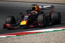 Po puikaus pasirodymo Austrijoje triumfavo M. Verstappenas