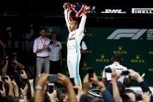 Dramatiškose D. Britanijos GP lenktynėse triumfavo L. Hamiltonas