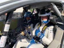 """V. Bottas išbandė """"Toyota WRC"""" automobilį"""