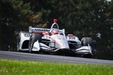 """<span style=""""background:#3f3f3f; color:white; padding: 0 2px"""">IndyCar</span> Mid-Ohajaus trasoje greičiausias W. Poweris"""