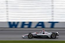 """<span style=""""background:#3f3f3f; color:white; padding: 0 2px"""">IndyCar</span> W. Poweris nugalėjo anksčiau laiko Pocone pasibaigusiose lenktynėse"""