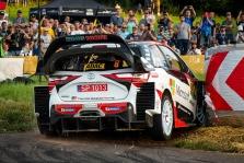 """<span style=""""background:#000000; color:white; padding: 0 2px"""">WRC</span> Vokietijoje prasidėjusiame ralyje - O. Tanako ir T. Neuville'io dvikova"""