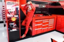C. Leclercą nustebino didelė persvara prieš S. Vettelį