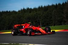 Belgijos GP: šeštadienio treniruotė