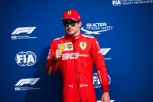 "Italijoje - antroji iš eilės C. Leclerco ""pole"""