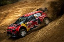 """<span style=""""background:#000000; color:white; padding: 0 2px"""">WRC</span> Turkijos ralyje pirmauja """"Citroen"""" lenktynininkai"""