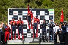 "<span style=""background:#000000; color:white; padding: 0 2px"">WRC</span> Turkijos ralyje triumfavo S. Ogier"