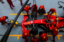Singapūro GP: šeštadienio treniruotė