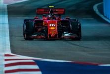 "C. Leclercas nepatenkintas ""Ferrari"" taktiniais sprendimais"