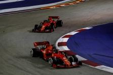 "M. Binotto gina Singapūre priimtus ""Ferrari"" taktinius sprendimus"