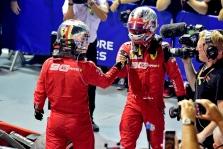 S. Vettelis: suprantu kodėl C. Leclercas buvo nepatenkintas