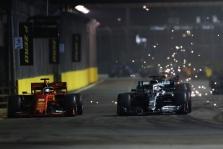 """L. Hamiltonas: likusiose lenktynėse įveikti """"Ferrari"""" bus labai sunku"""