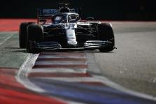 """L. Hamiltonas: """"Mercedes"""" nebus favoritė nugalėti likusiose lenktynėse"""
