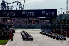 Rusijos GP organizatoriai tikisi surengti lenktynes su žiūrovais