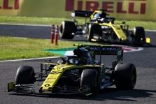 "Sezono rezultatai: ""Renault F1 Team"""