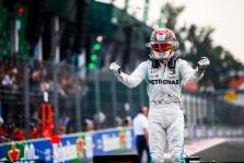 Meksikos GP lenktynėse - L. Hamiltono triumfas