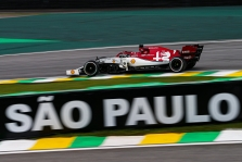 K. Raikkonenas džiaugėsi komandos pasirodymu Brazilijoje, tačiau apgailestavo dėl neišnaudotos galimybės