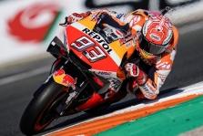"""<span style=""""background:#d5002c; color:white; padding: 0 2px"""">MotoGP</span> M. Marquezas  2019 m. sezoną užbaigė pergale"""