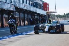 L. Hamiltonas ir V. Rossi Valensijoje apsikeitė technika