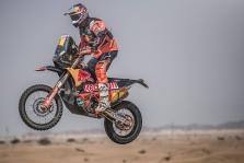 """<span style=""""background:#996633; color:white; padding: 0 2px"""">Dakaras</span> Pirmąjį greičio ruožą greičiausiai įveikė T. Price'as"""