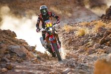 """<span style=""""background:#996633; color:white; padding: 0 2px"""">Dakaras</span> Trečiajame greičio ruože - solidus A. Gelažninko pasirodymas bei """"Honda"""" dominavimas"""
