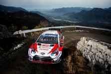 """<span style=""""background:#000000; color:white; padding: 0 2px"""">WRC</span> Monte Karlo ralyje į priekį įsiveržė S. Ogier"""