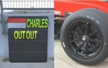 """C. Leclercas išbandė 18 colių """"Pirelli"""" padangas"""