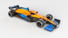 "Oficialiai pristatytas ""McLaren"" bolidas"
