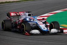 """""""Haas"""", """"Williams"""" ir """"Renault"""" išbandė bolidus Barselonoje"""